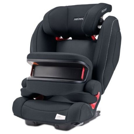 Автокресло группа 1/2/3 (9-36 кг) Recaro Monza Nova IS Seatfix, Prime Mat Black