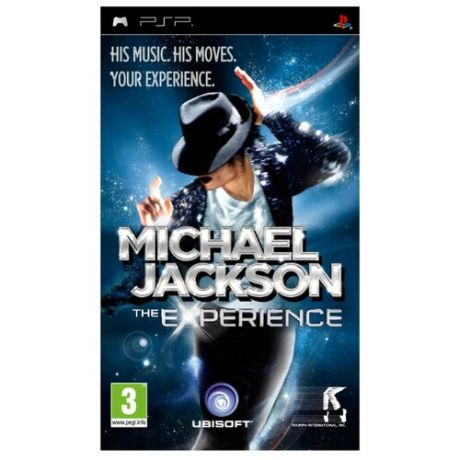 Игра для PlayStation Portable Michael Jackson: The Experience