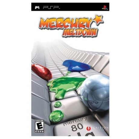 Игра для PlayStation Portable Mercury Meltdown