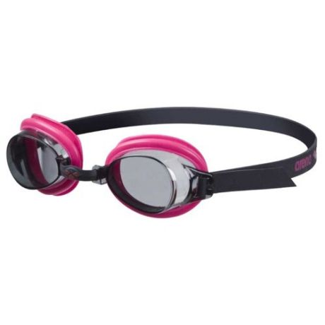 Очки для плавания arena Bubble 3 JR 92395 black/smoke/fuchsia