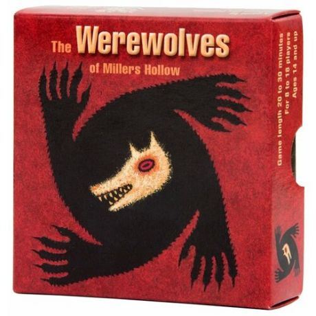 Настольная игра Asmodee The Werewolves of Millers Hollow