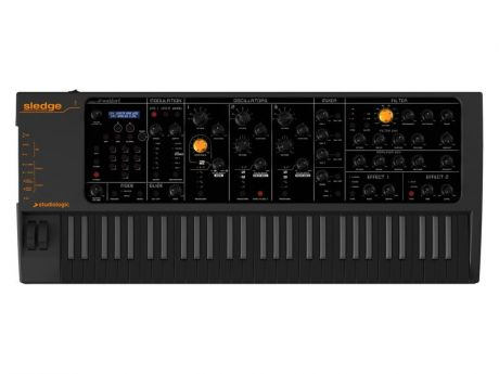 Синтезатор Studiologic Sledge Synthesizer Black Edition