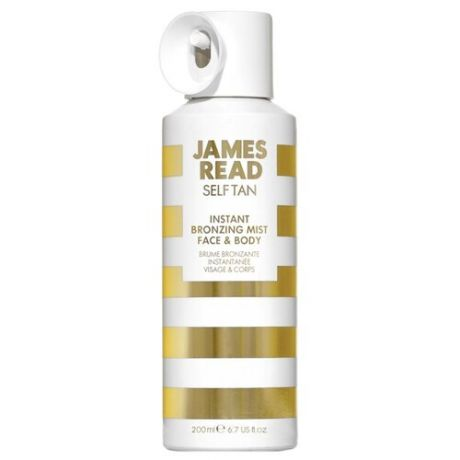 Спрей для автозагара JAMES READ Instant Face & Body Bronzing Mist 200 мл