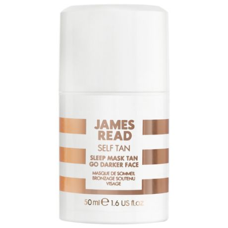Гель для автозагара JAMES READ Sleep Mask Tan Go Darker Face 50 мл