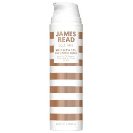 Маска для автозагара JAMES READ Sleep Mask Tan Go Darker Body 200 мл