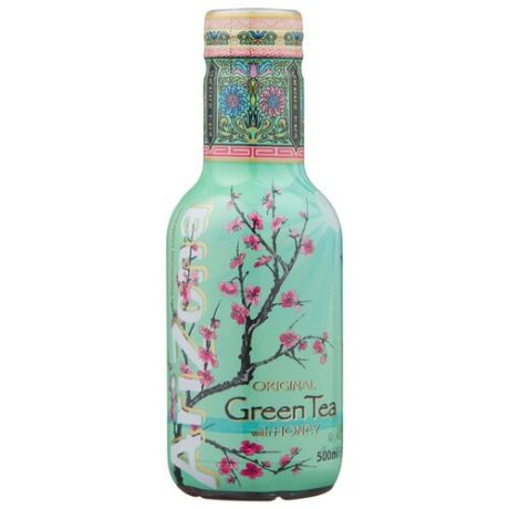 Чай AriZona Green Tea with Ginseng and Honey, ПЭТ, 0.5 л
