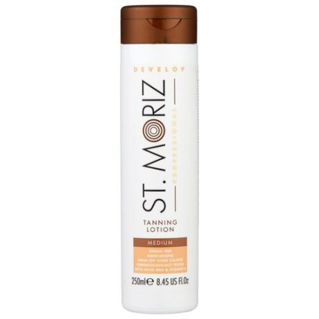 Лосьон для автозагара St.Moriz Professional Tanning Lotion Medium 250 мл