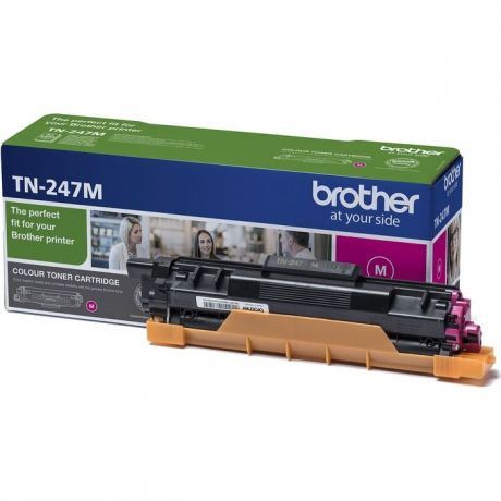 Картридж Brother TN-217M жёлтый 2300 стр.