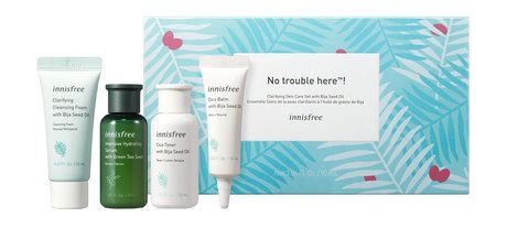 Innisfree Clariffying Skin Care Set with Bija Seed Oil