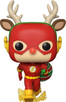 Funko POP! Фигурка Funko POP! Vinyl: DC: Holiday: Рудольф Флэш, 50654