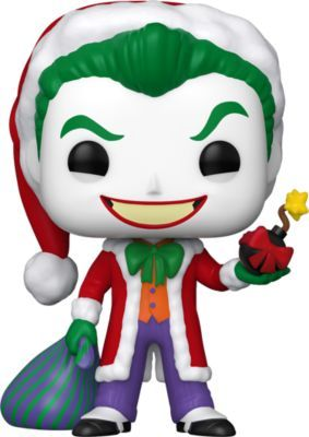 Funko POP! Фигурка Funko POP! Vinyl: DC: Holiday: Санта Джокер, 51071