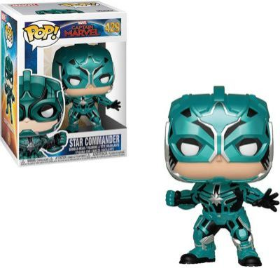 "Funko POP! Фигурка Funko POP! Bobble: Marvel ""Капитан Марвел"" Йон-Рогг, 36352"