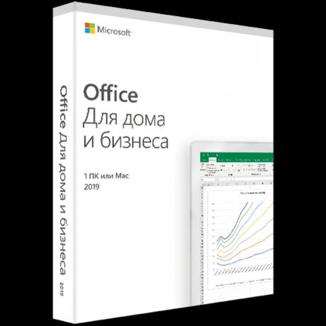 Microsoft Office Home and Business 2019 Russian Russia Only Medialess P6 (T5D-03361)