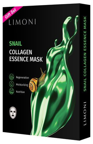 Limoni With Pearl Collagen Sheet Mask 6 Pack