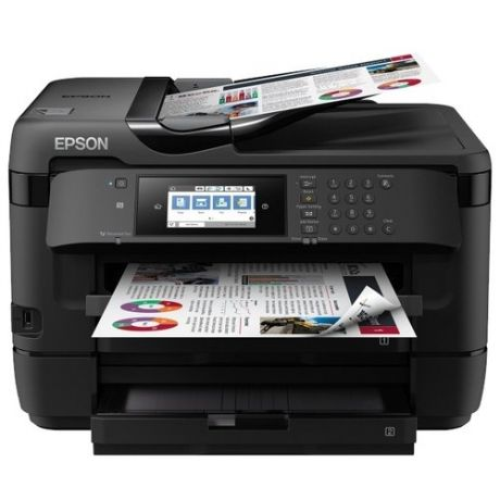 МФУ Epson WorkForce WF-7720DTWF, черный