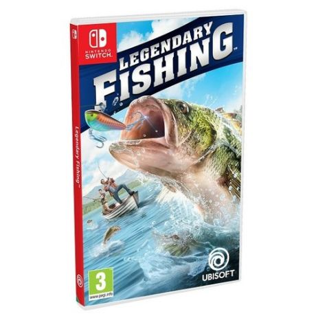 Игра для Nintendo Switch Legendary Fishing, английский язык