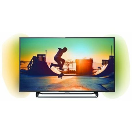 "Телевизор Philips 55PUS6262 54.6"" (2017), серебристый"