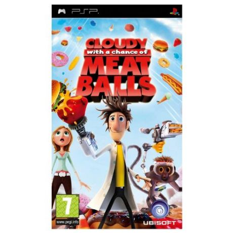 Игра для PlayStation Portable Cloudy With a Chance of Meatballs, английский язык