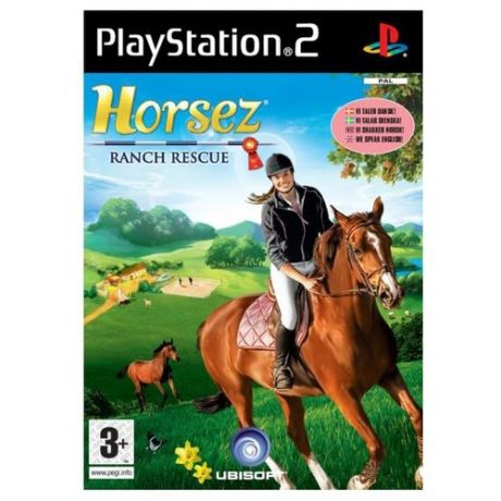 Игра для PlayStation 2 Horsez: Ranch Rescue, английский язык