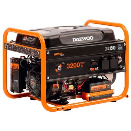 Бензиновый генератор Daewoo Power Products GDA 3500E (2800 Вт)