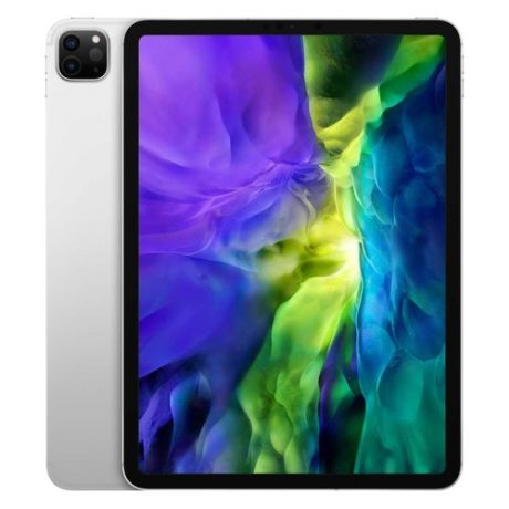 "Планшет APPLE iPad Pro 2020 11"" 128Gb Wi-Fi + Cellular MY2W2RU/A, 128GB, 3G, 4G, iOS серебристый"