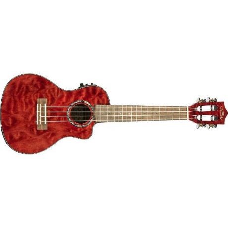 Укулеле Lanikai QM-RDCEC Quilted Maple Red Stain