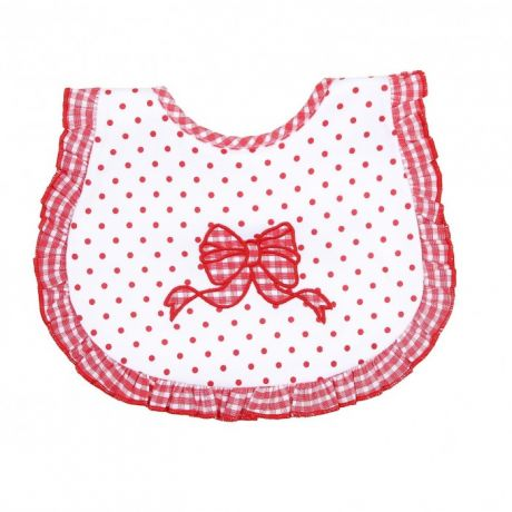 Нагрудники Magnolia baby Red Bow Applique