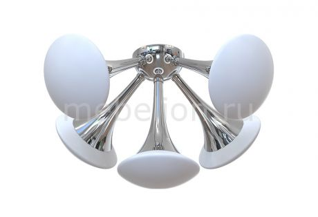 Luce Solara 3019/5PL Chrome/White