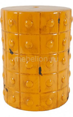 DG-Home Mustard Stool Orange DG-F-TAB64