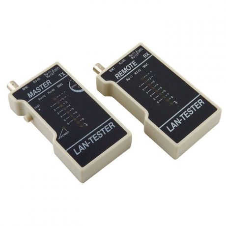 Тестер кабеля 5bites LY-CT013 для UTP/STP RJ45, BNC, RJ11/12