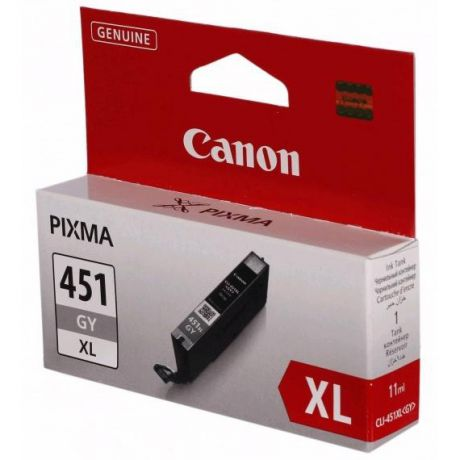 Canon CLI-451GY XL Gray для Pixma iP7240/MG6340/5440