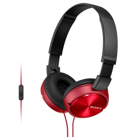Гарнитура Sony MDR-ZX310AP Red