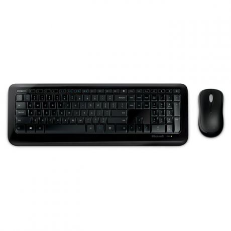 Клавиатура+мышь Microsoft Wireless Desktop 850 Black USB