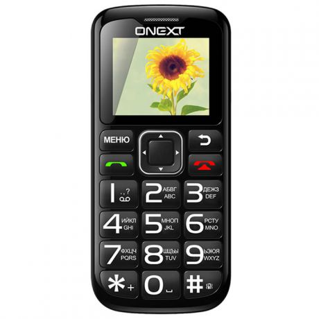 Onext Care Phone 5 черный