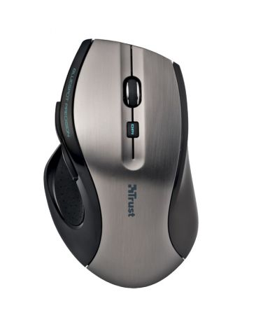 Trust MaxTrack Wireless Mouse Grey/Black USB (17176)