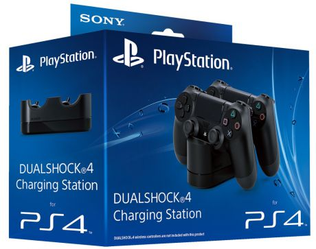 Sony Dualshock 4 Charging Station для 2-х геймпадов PS4