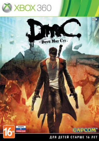 Capcom Xbox DmC Devil May Cry. РС