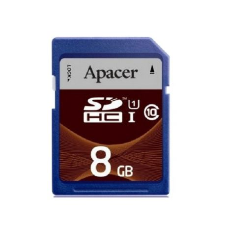 Apacer SDHC 8GB Class10 UHS-I