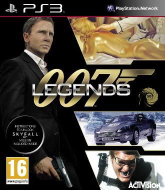 Activision 007 Legends. Русская версия