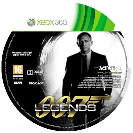 Activision Xbox 007 Legends. РВ