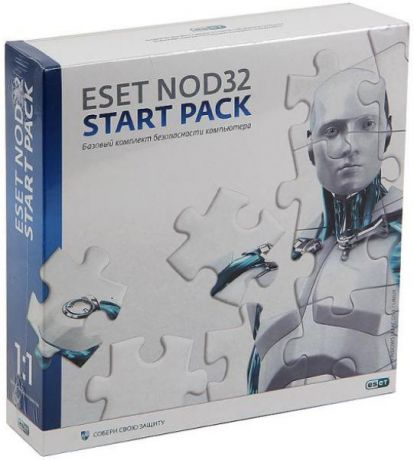 Eset NOD32 START PACK 1год на 1ПК