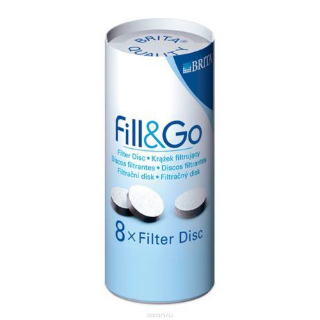 BRITA Fill&Go Filter Disc (8шт.)