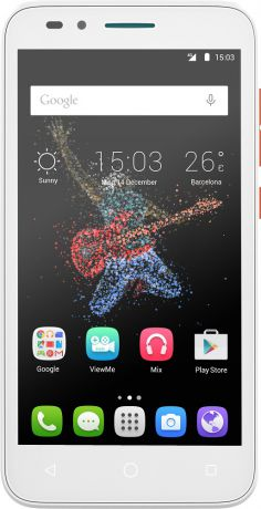 Alcatel One Touch 7048X Go Play LTE Orange White