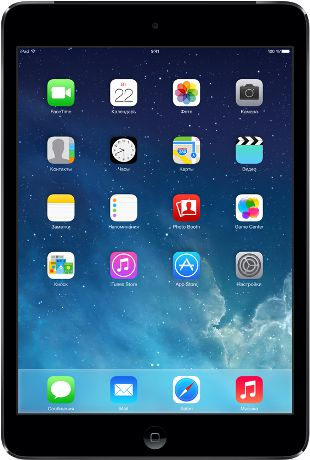 Apple iPad mini with Retina display Wi-Fi + Cellular 16GB Space Gray