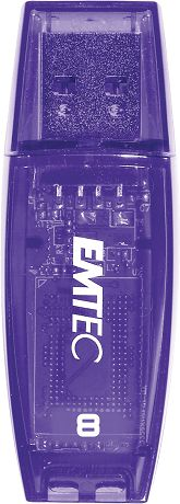 EMTEC C410 Color Mix 8Gb USB 2.0 Purple