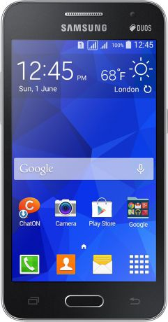 Samsung Galaxy Core 2 Duos SM-G355H Black