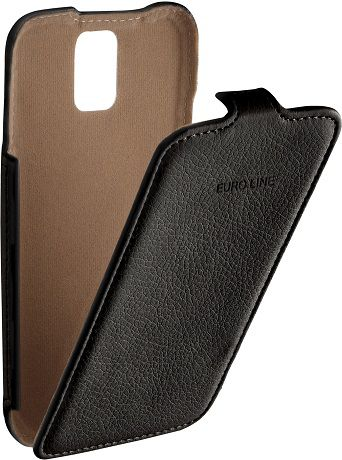 EuroLine для Samsung G900 Galaxy S5 Black