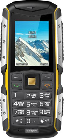 teXet TM-512R Black Yellow