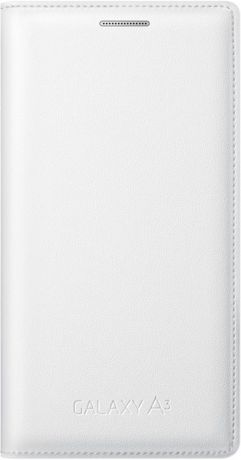 Samsung Чехол-книжка Samsung Galaxy A3 Flip Cover White