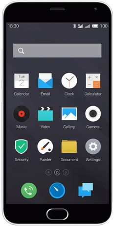 Meizu M571H M2 Note 16Gb LTE Dual Sim Dark Grey